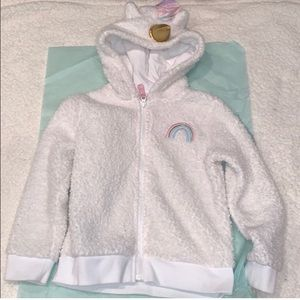 Other - Kids Unicorn Sherpa Jacket